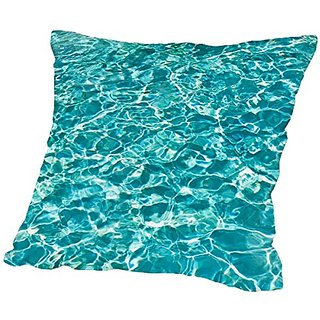 American Flat pool Side, Urban Road Pillow by Urban Road, 16