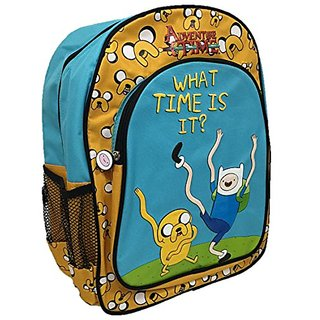 Childrens Cartoon Network Adventure Time School Backpack