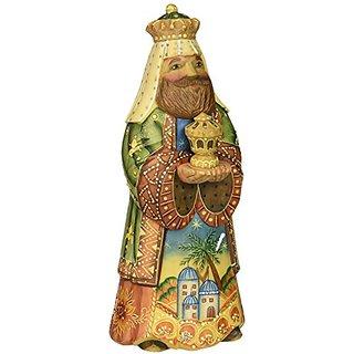 G. Debrekht 526323 King Balthazar Figurine, 5-1/2-Inch
