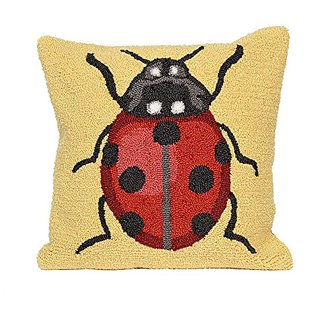 Liora Manne Whimsy Red Lady Pillow, 18