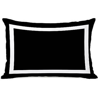 Bentin Home Decor Samantha Simple Square Throw Pillow by OBC, 18