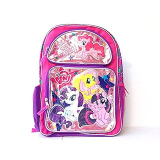 New My Little Pony Sparkle and Shine Large Backpack-2441