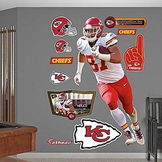 NFL Kansas City Chiefs Travis Kelce Big Wall Decal