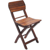 Foldable Folding Wooden Chair Kids Kid School Study Bank Home Decor Furniture