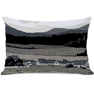 Bentin Home Decor Open Field Throw Pillow w/Zipper by Matthew Woodson, 14
