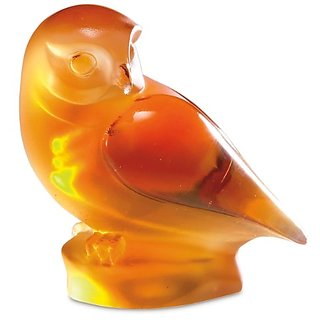 Beau Verre Limited Edition Owl Sculpture