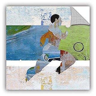 ArtWall Greg Simansons Runner Art Appeelz Removable Graphic Wall Art, 18 x 18