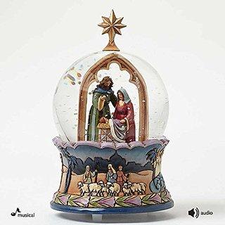 Enesco Jim Shore Nativity Musical Waterball
