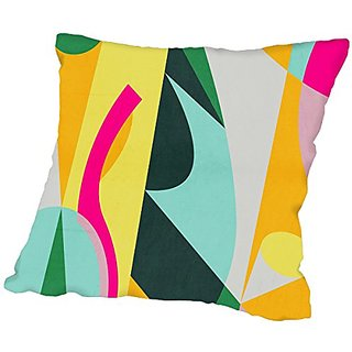 American Flat Geo 12, Urban Road Pillow by Urban Road, 18