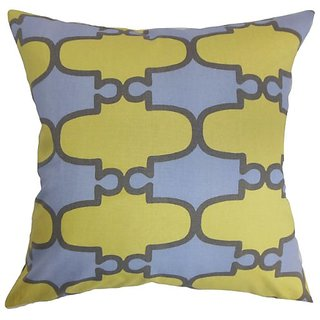 The Pillow Collection Abou Geometric Pillow, Lilac