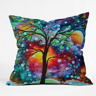 DENY Designs Madart Inc. A Moment in Time Throw pillow, 16 X 16