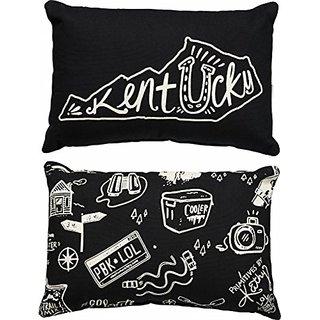 Primitives by Kathy State Pillow Kentucky Black 8 x 12