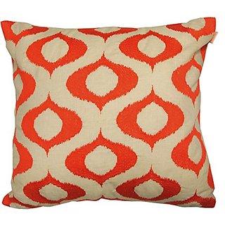 Artistic Linen Tyra Linen Blend Embroidered Decorative Pillow, 20 x 20