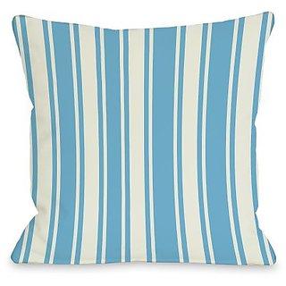 Bentin Home Decor Tri-Stripes Throw Pillow by OBC, 20
