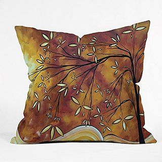 DENY Designs Madart The Wishing Tree Throw Pillow, 26 by 26-Inch