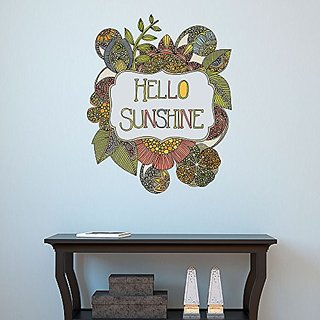 My Wonderful Walls Hello My Sunshine Positive Vibe Decal by Valentina Harper (L)