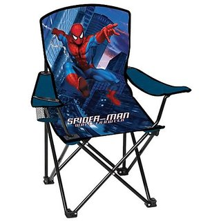 Folding Camp Arm-Chair for Kids: Marvel Spider*Sense Spiderman,