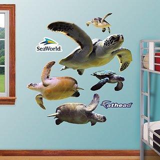 FATHEAD Sea Turtles Graphic Wall Dcor