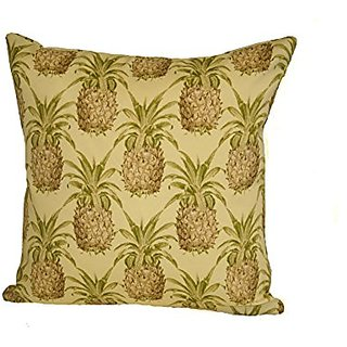 Rennie & Rose Pineapple Throw Pillow, 17-Inch