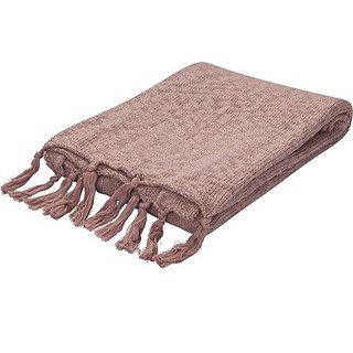 Jaipur Pink Cotton Throw, 50