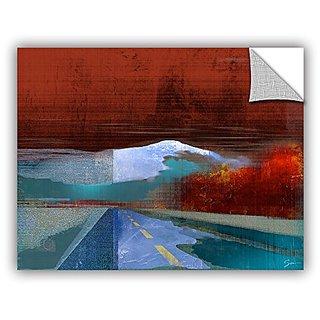 ArtWall Greg Simansons Landscape I Art Appeelz Removable Graphic Wall Art, 18 x 24