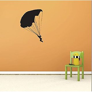 Design with Vinyl 2 Pro 102 Decor Item Skydiving Risk Taking Fun Wall Decal Peel and Stick Sticker Mural, 20 x 30-Inch,
