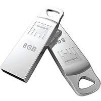 Strontium 8GB AMMO USB 2.0 Flash Drive (Silver)