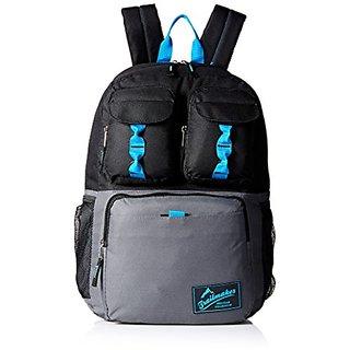 Trailmaker Big Boys Triple Pocket Backpack, Black, One Size