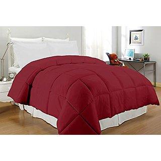 South Bay OS CR KG CFR220T Down Alternative Comforter, King, Crimson