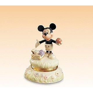 Lenox A Picnic with Mickey Treasure Box