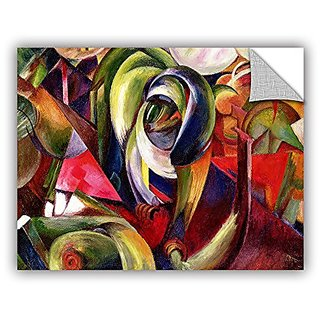 ArtWall Franz Marcs Mandrill Art Appeelz Removable Wall Art Graphic, 14