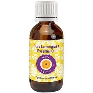 Pure Lemongrass Essential Oil - Cymbopogon Citratus 30ml