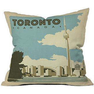 DENY Designs Anderson Design Group Toronto Throw Pillow, 20 x 20