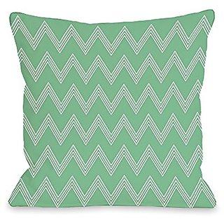 Bentin Home Decor Emily Tier Chevron Throw Pillow w/Zipper by OBC, 16