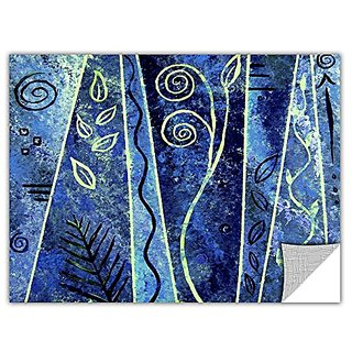 ArtWall Herb Dickinson Abstract 417 Removable Graphic Wall Art, 12 by 18-Inch