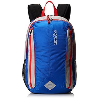 JanSport Spark Backpack - Blue Streak/High Risk Red / 18.5