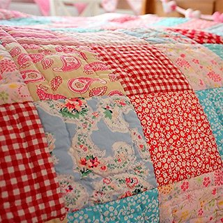 Matilda Patchwork Quilt/Throw - Twin
