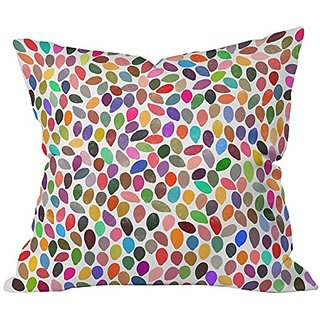 DENY Designs Garima Dhawan Rain 13 Throw Pillow, Extra Large/26 x 26