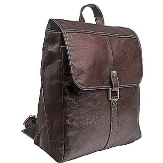 HIDESIGN Hector Leather Backpack, Brown