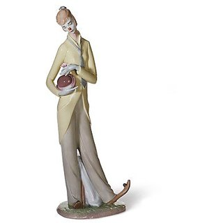 ROMANTIC CLOWN Lladro Porcelain
