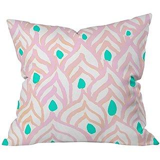 DENY Designs Rebecca Allen Princess Peacock Throw Pillow, 20 x 20