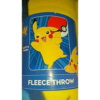Pokemon Pikachu Fleece Throw Blanket 40
