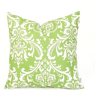 Majestic Home Goods Sage French Quarter Pillow, Large