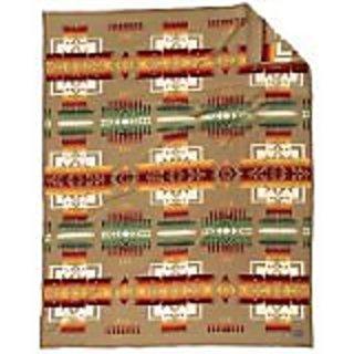 Pendleton Chief Joseph Blanket Khaki, One Size