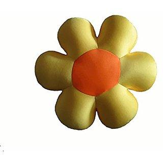 Tache Home Fashion FF07Y Field of Flower Micro Bead Cushion, Yellow