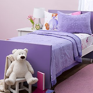 Disney Sofia the First Quilt and Sheet Set twin