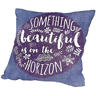 American Flat Something Beautiful Pillow by Mia Charro, 20