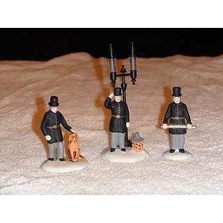 department 56 Constables (Set of 3) 5579-4 Heritage Village