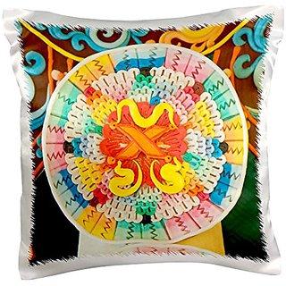 3dRose pc_132305_1 Asia, Bhutan, Bumthang Jamplay Lhakhang Temple As04 Bja0034 Jaynes Gallery Pillow Case, 16