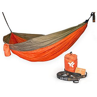 50% OFF Pro Portable Lightweight Camping Hammock with Adjustable Straps and Premium Aluminum Carabiners,Double Hammock,